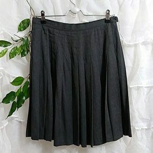 J. CREW Pleated Full Midi Skirt P37